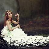 弥影中的森林女神