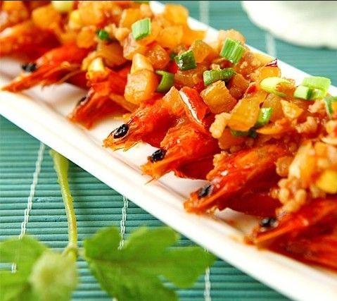 鲜香诱人的泡菜大虾