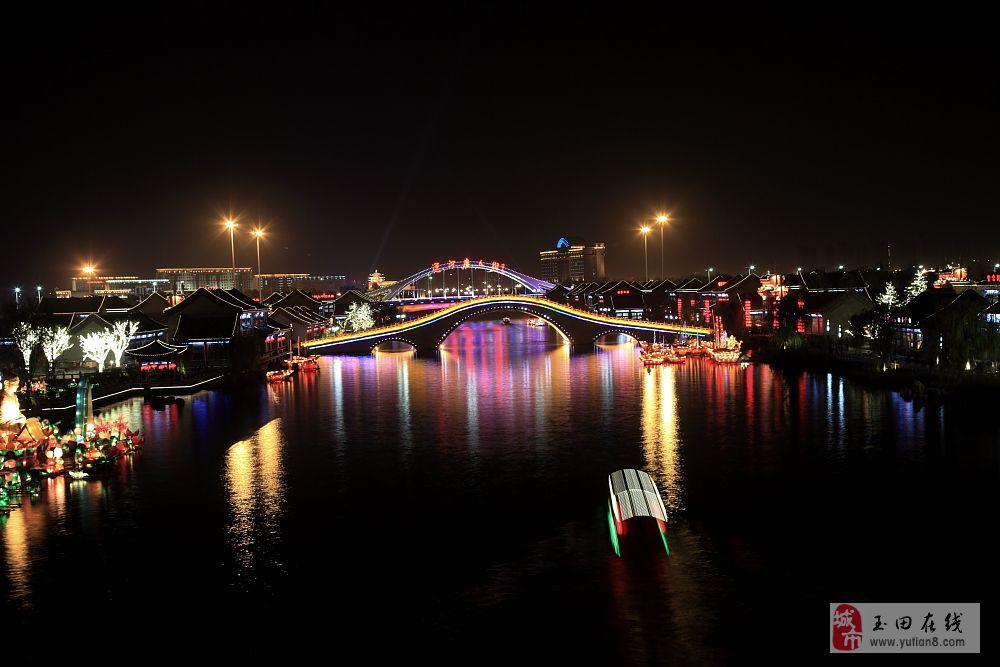 惠丰湖夜景-澳门大小点网址摄影