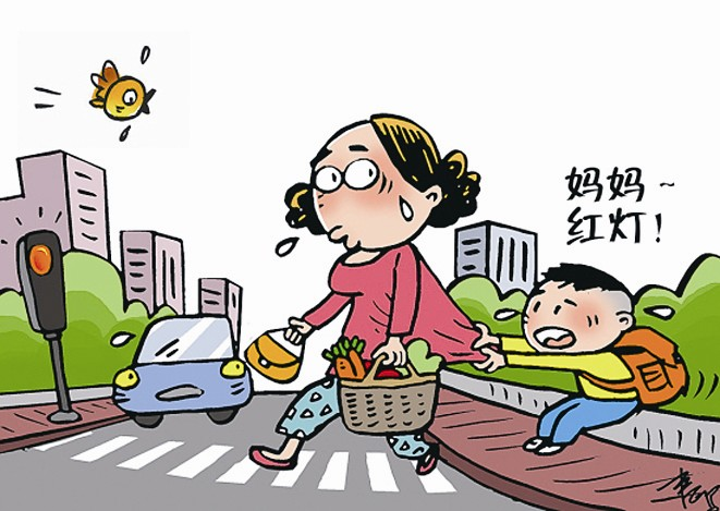 """一家之言整治""""中国式过马路""""不能全靠罚"""