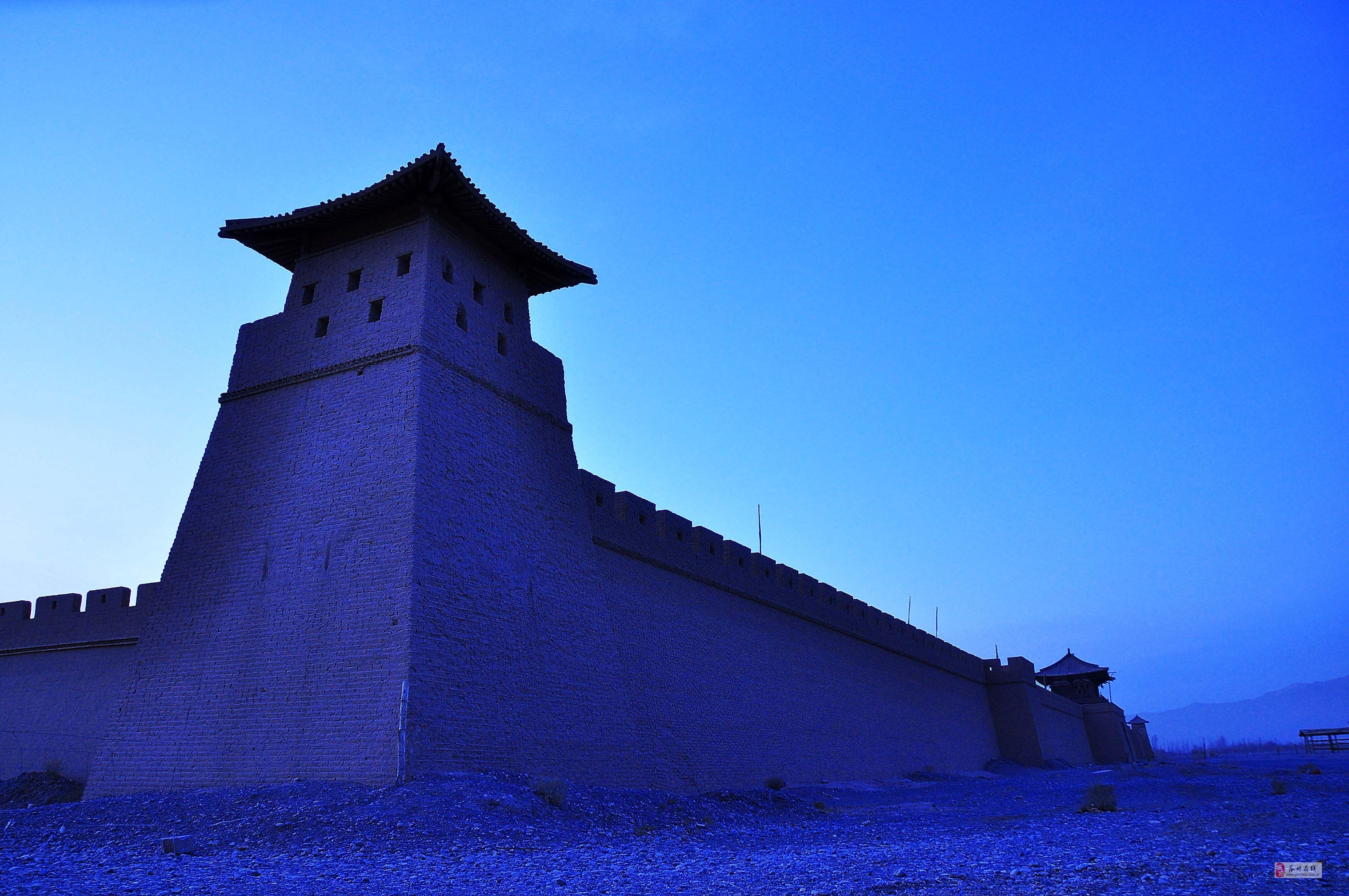 瓜州摄影师在敦煌—古城魅影[原创]