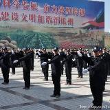 [分享]瓜州民警早操会操表演