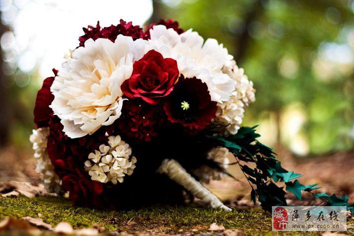 [原创]米兰婚纱纸艺捧花扮靓文艺气质新娘