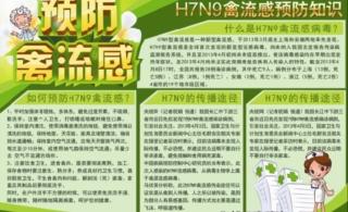 杭后北郊卫生院4月以来积极宣传禽流感预防知识