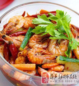 酸辣泡椒虾
