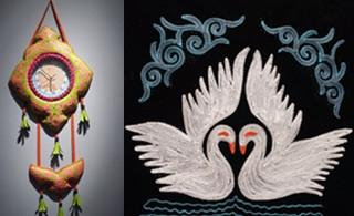 哈萨克族刺绣纹样图片