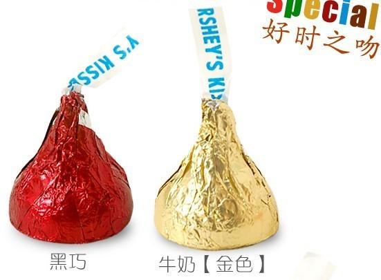 小身材大味道—好时之吻巧克力