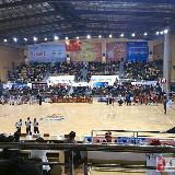 今晚寻乌县体育中心体育馆举办中国青年男篮四强争霸赛(组图)