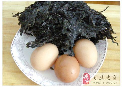 紫菜蛋汤——这个汤真的很简单