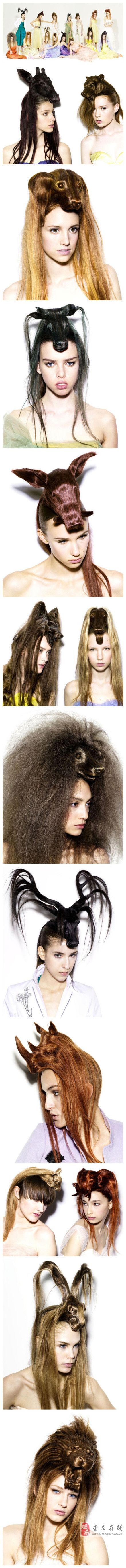 [贴图]史上最奇葩的发型!