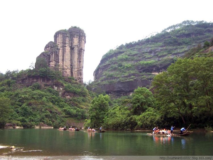 丹霞山奇景