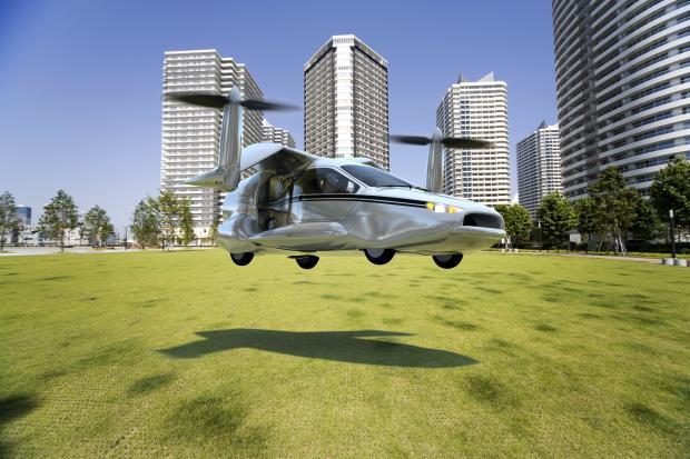除了地上跑 汽车还能在天上飞