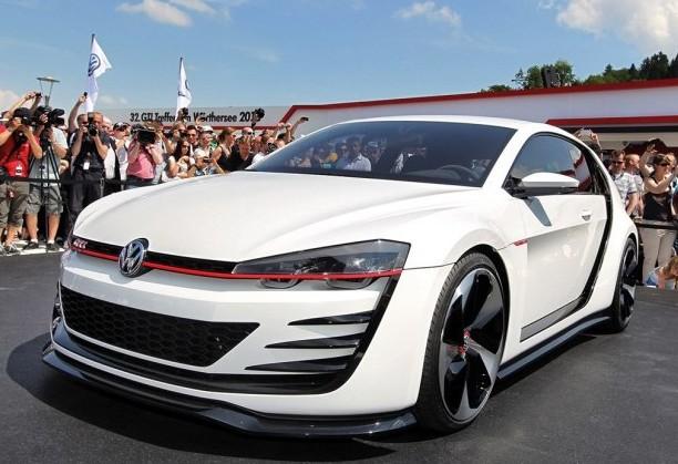 最大503马力 大众GTI概念车实车发布