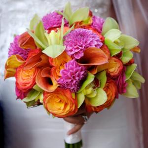 <fontcolor=#FF1493>[灌水]精美新娘手捧花,给婚礼增添浪漫</font>
