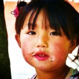 [原创]刚刚吃完雪糕的农村小姑娘