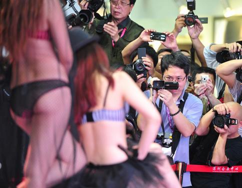 第八届深圳国际内衣展火爆养眼