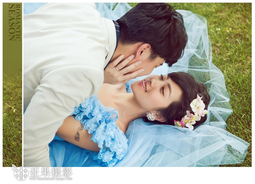[原创]拥抱专属自己的浪漫季节婚纱照