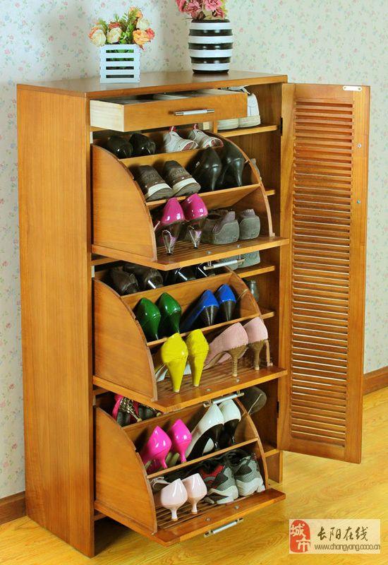 鞋子随意收纳 简洁美观实用