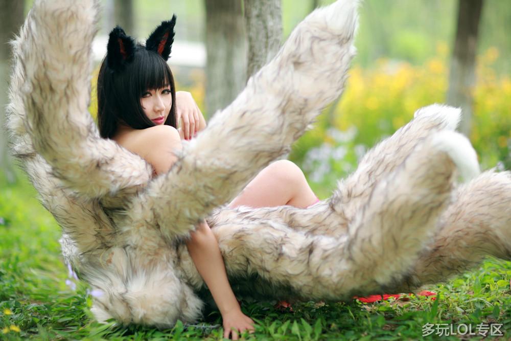 绝非小清新:最美九尾妖狐传神COS欣赏