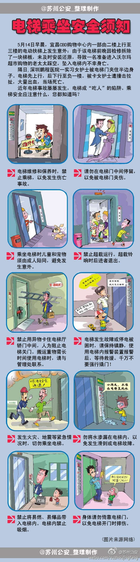 电梯乘坐安全须知