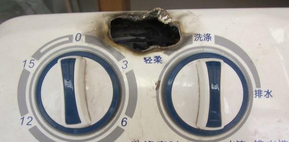 小(xiao)天鵝洗衣機自燃,當地商家(jia)表示願出(chu)10塊可憐(lian)費