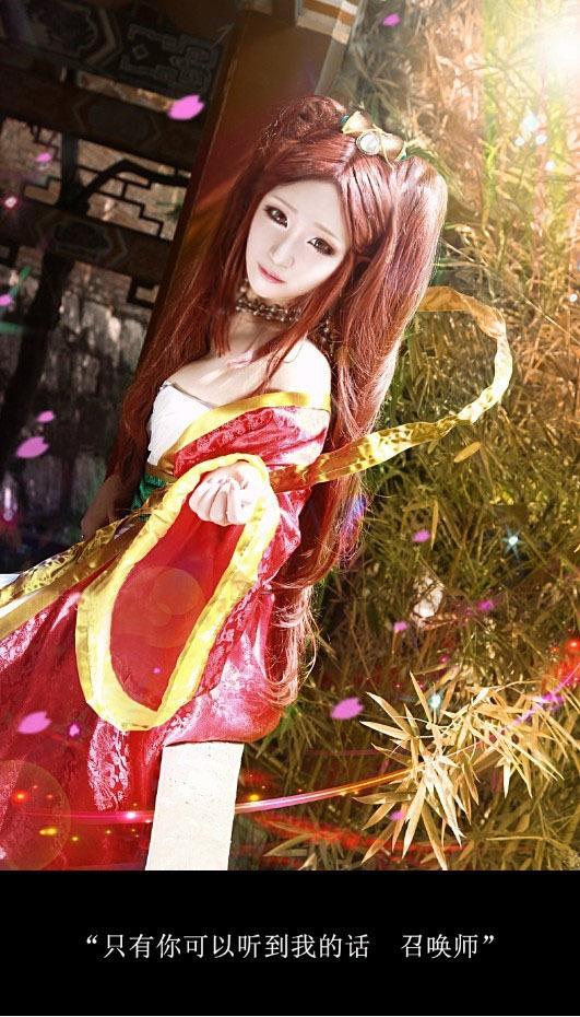 [转贴]琴瑟仙女娑娜COS 唯美中国风