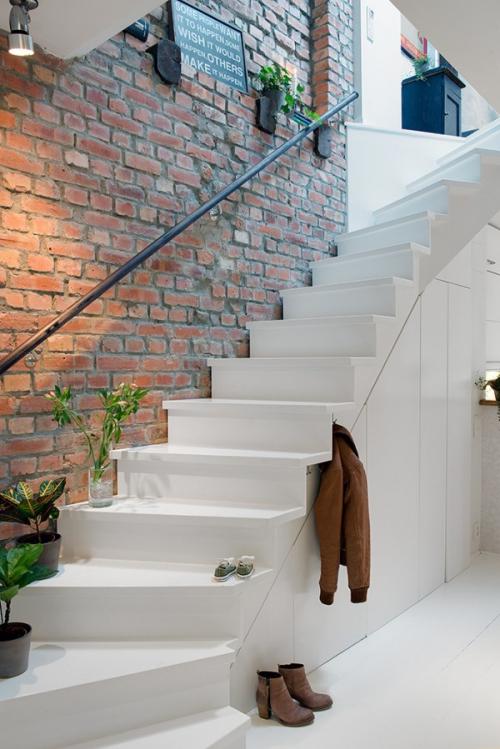 北欧风格复式家居装修设计 很纯洁的白色 装修日记 宁阳论坛 新宁阳 -高清图片