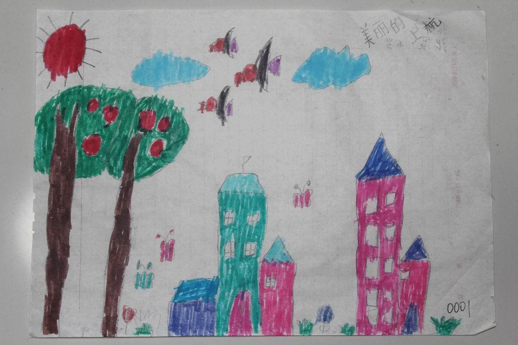 六一绘画比赛幼儿组