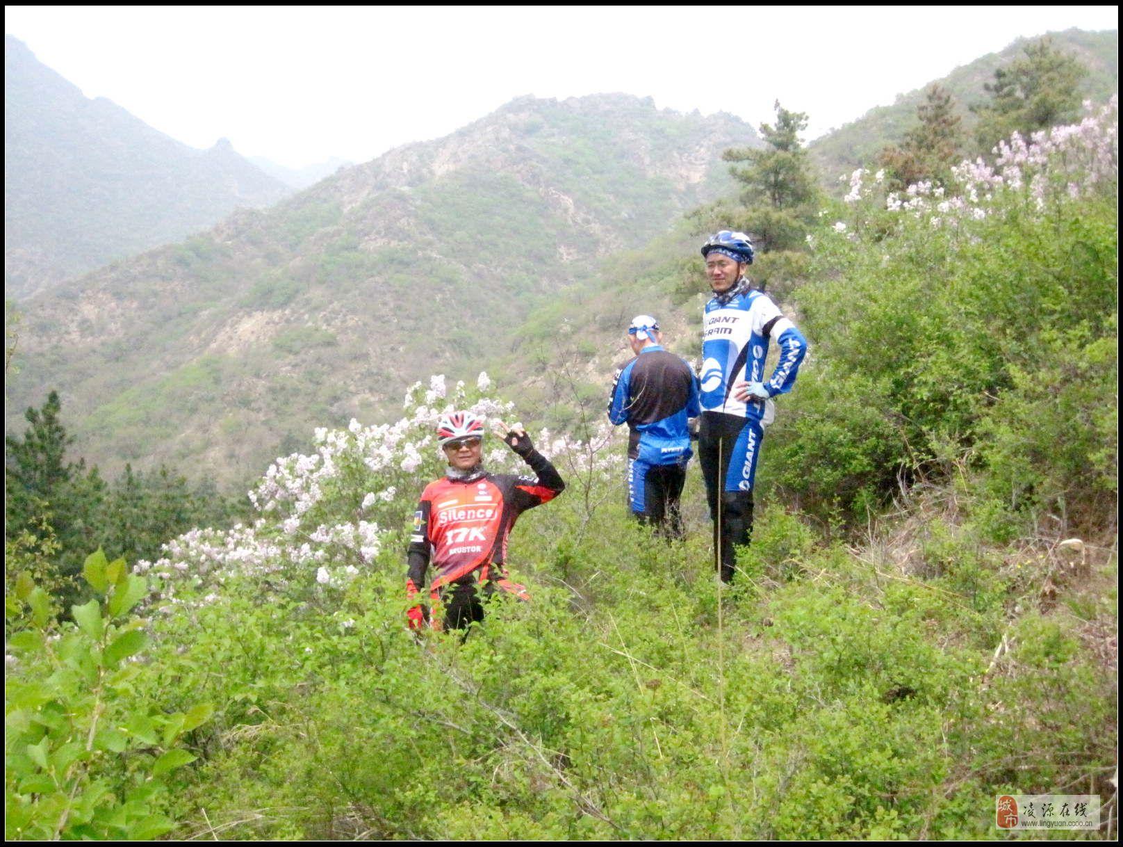 5月18日骑行建平县,榆树林子留沟村