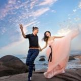 [分享]婚纱照的造型搭配