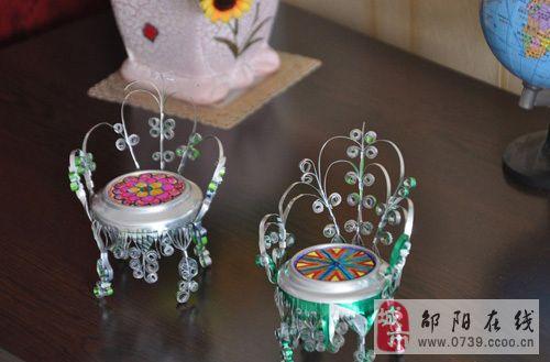 妙用易拉罐做成的手工艺品,实用又美观