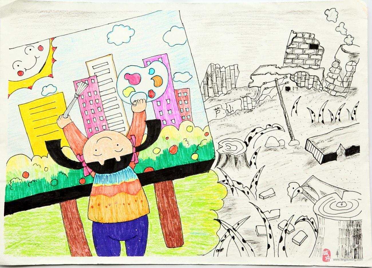中国梦儿童绘画作品图片_中国梦儿童绘画作品图片下载