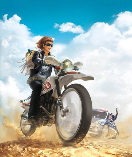 摩托车爱好者
