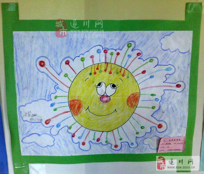 幼儿园小班绘画作品图片展示_幼儿园小班绘画作品相关图片下载