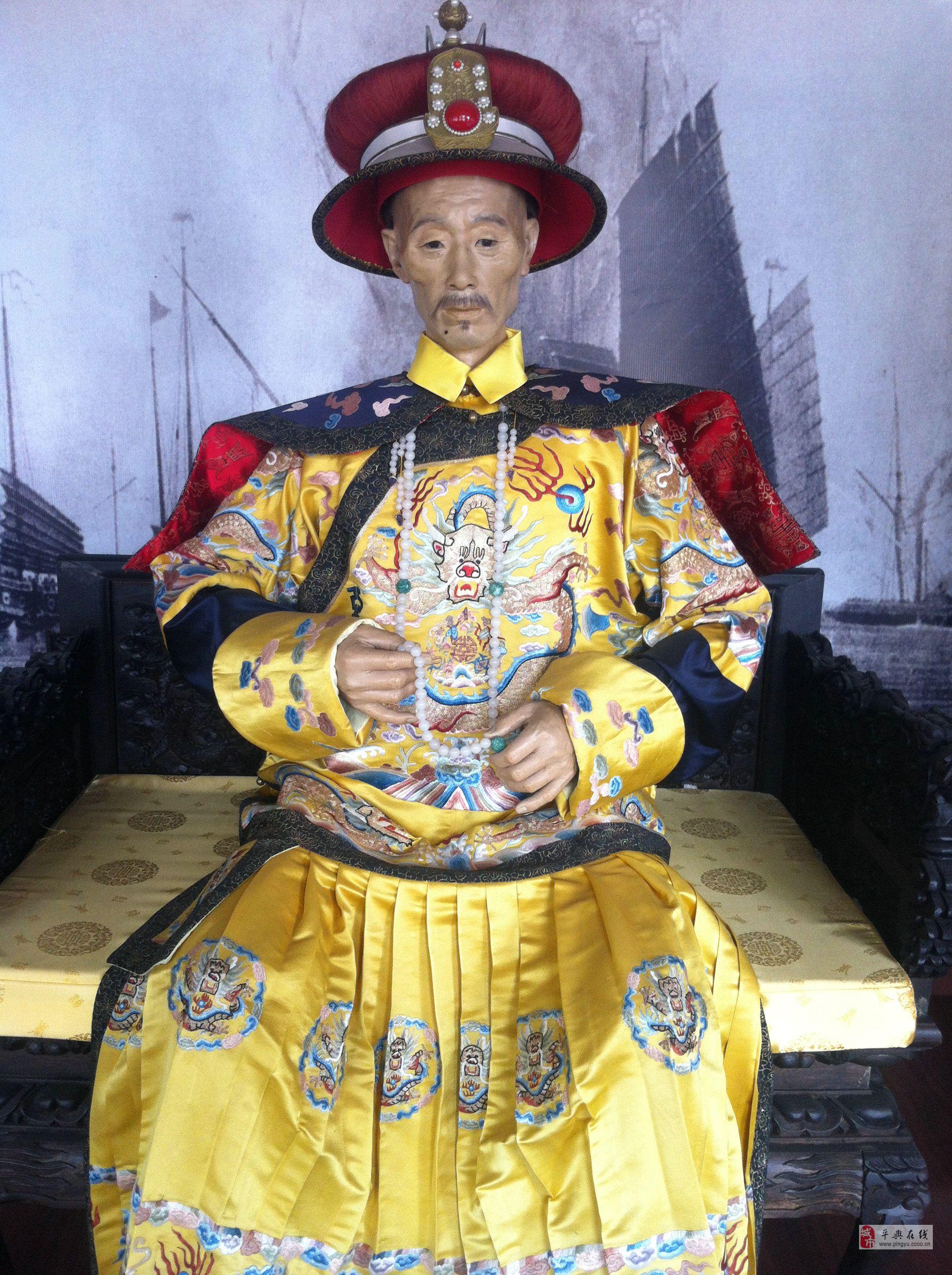 清朝-大清12位皇帝 蜡像及立意