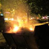 铜仁梵净山大道焚烧垃圾影响附近居民生活