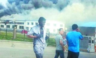 吉林禽业公司大火,上百人伤亡。