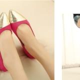[求助] 夏天来了,想买一款彩色的平底鞋,大家帮忙参考参考!