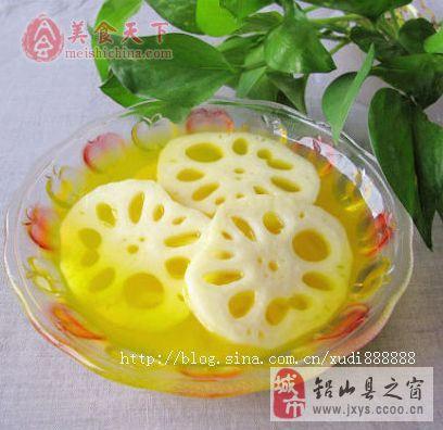 [转贴]橙汁藕片