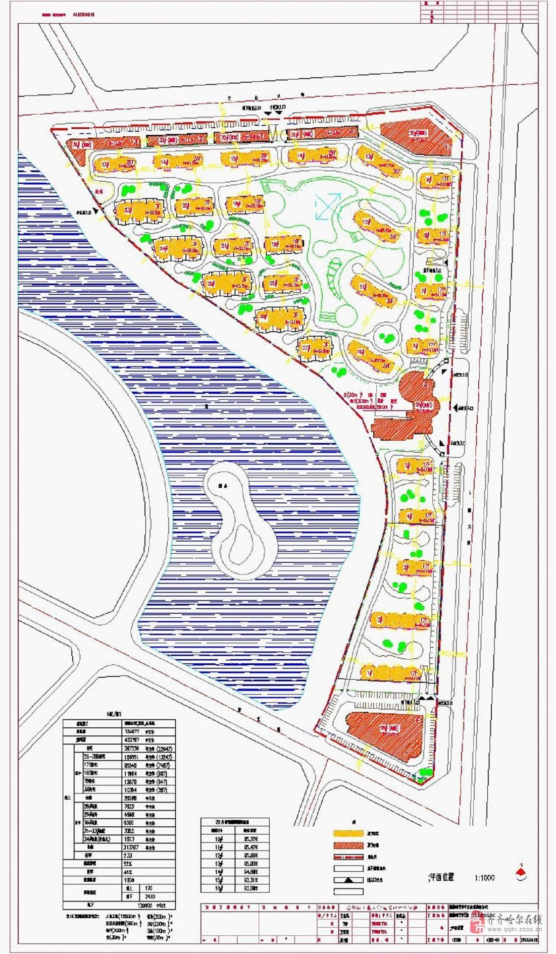 阳信县机关小区平面图