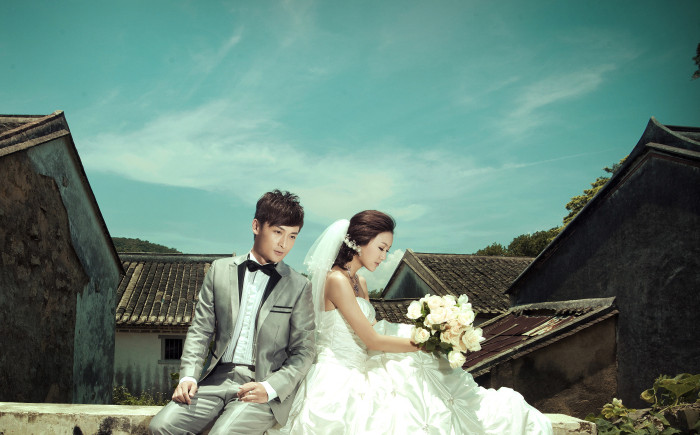 [原创]婚纱摄影最为浪漫的海景景观――色色婚纱摄影南亚湾蜜月海景基地