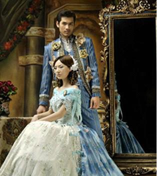 古典宫廷风   高品质的欧式婚纱照风格因其经典