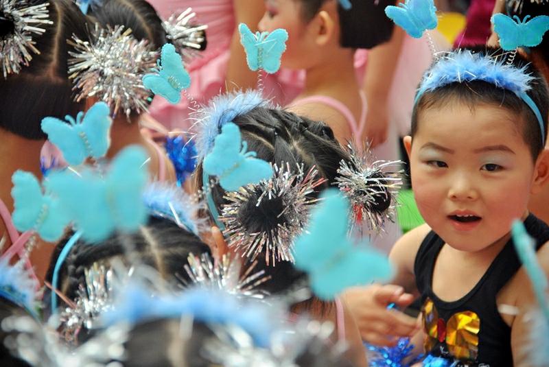 快乐的节日——随拍金太阳幼儿园六一活动