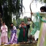话说襄阳端午习俗女子穿汉服弓箭射五毒为健康祈福