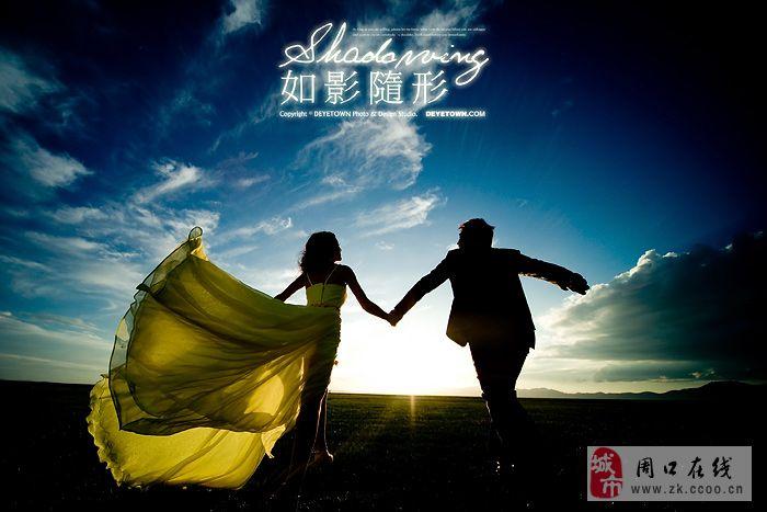 新疆风景广角海报