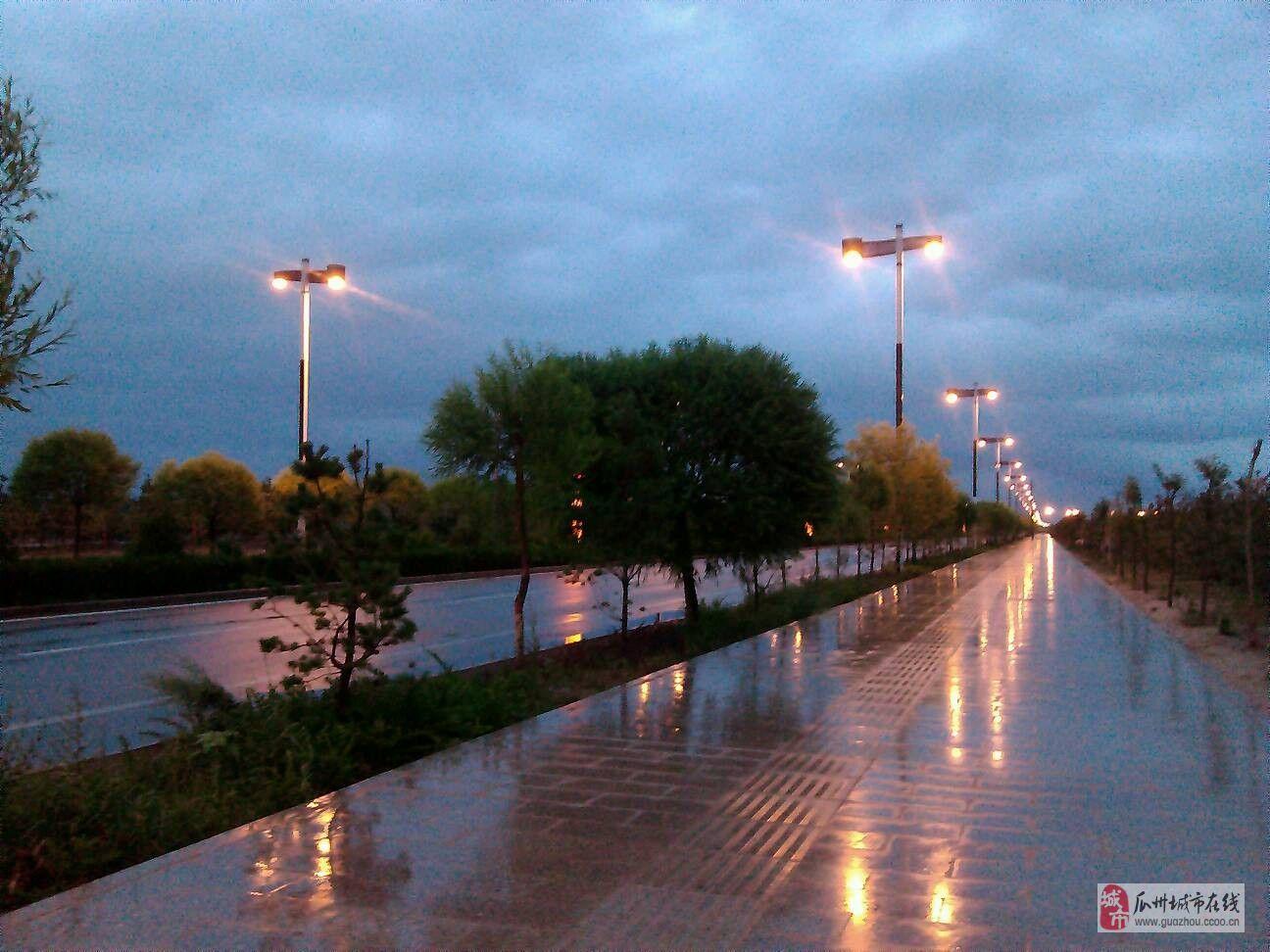 雨后的瓜州出去转一转真是神清气爽啊