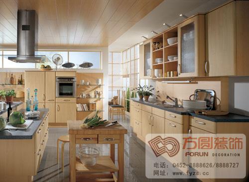 欧式风格厨房装修效果