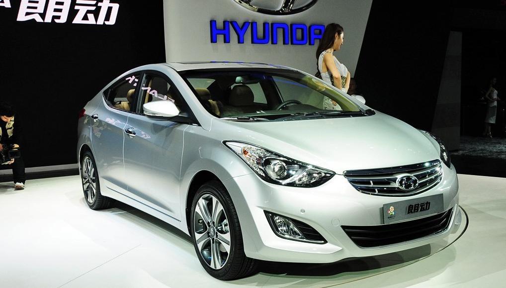 朗动就是现代汽车第五代伊兰特(elantra),2012年度的北美最佳