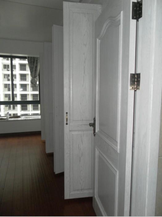 欧式白色描银房门
