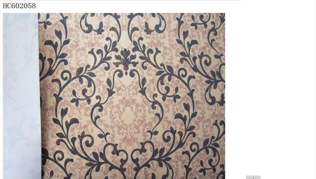 爱舍激情马赛无纺布客厅大堂壁纸墙纸现代欧式背景满贴
